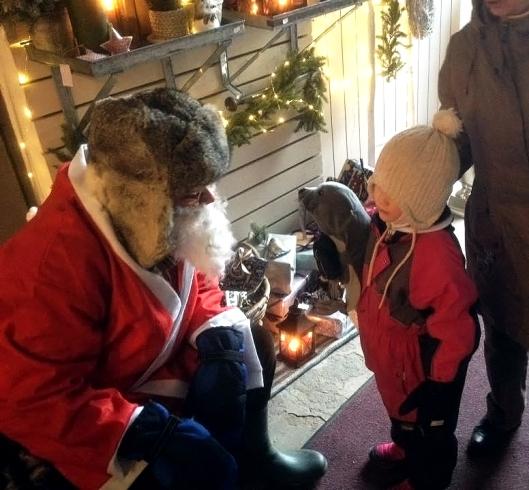 Pop-up-joulukahvila Mosa Interiorsissa